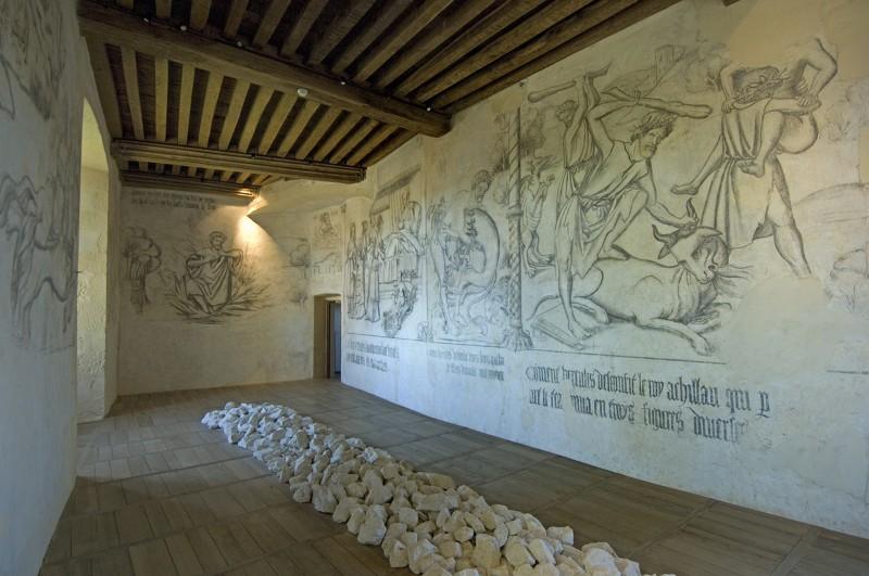Art contemporain au château de Rochechouart