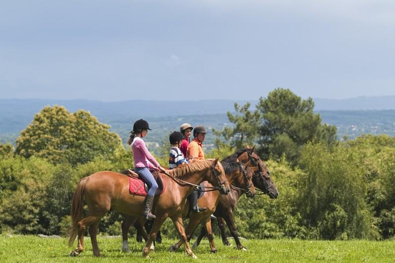 Randonées à cheval en Limousin, Creuse