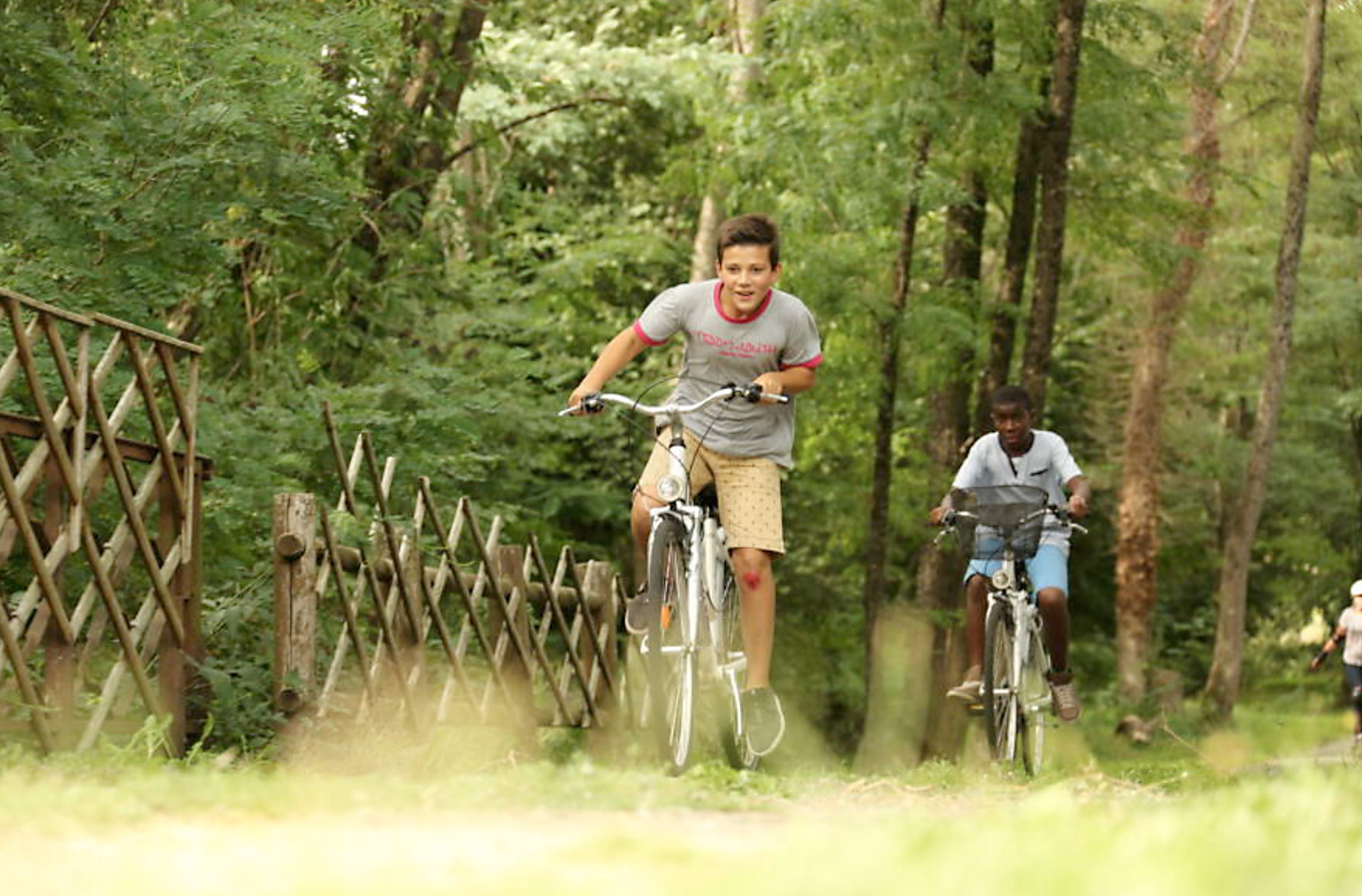 Vélo au lac de Vassivière