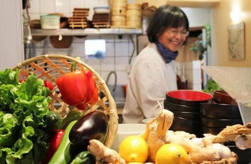 asiatique, cuisine,