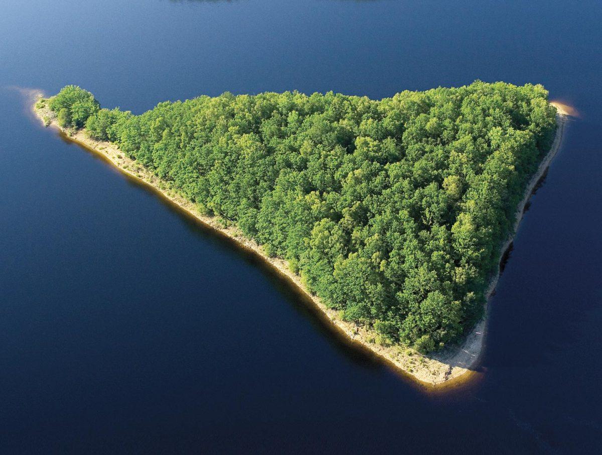 Osez la Creuse ! Lac de Vassivière en Limousin